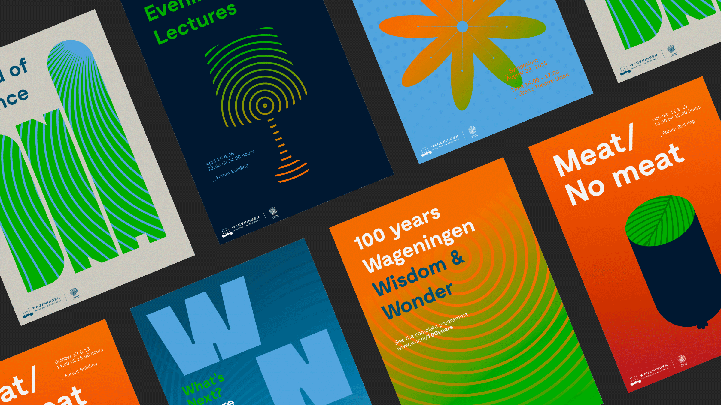 Wageningen University & Research poster design